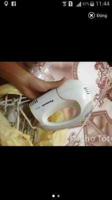 Cần tiền nên bán máy đánh trứng panasonic máy bao test nha