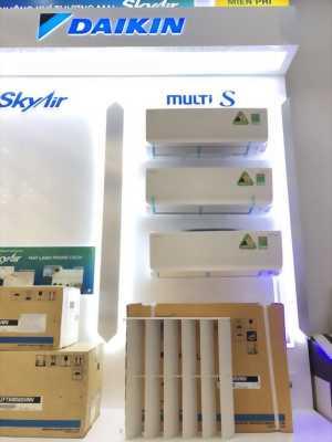 Điều hòa một cục nóng kết nối 3 cục lạnh Multi-S Daikin Gas R32 - Bảng giá thiết bị