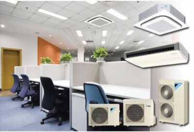 Nhà thầu cung cấp giải pháp điều hòa thương mại Daikin SkyAir cho văn phòng,cửa hàng,phòng GYM