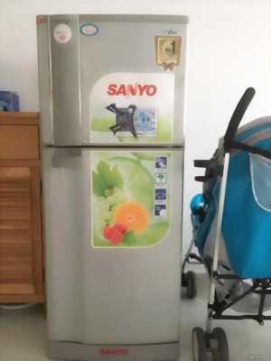 tủ lạnh sanyo hàng thái quạt gió 165l