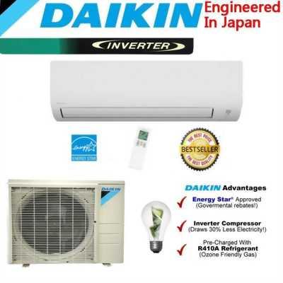 Bán máy lạnh 1 ngựa, còn mới 90% Daikin Clean QQ450