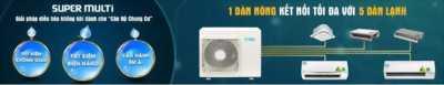Bảng báo giá máy lạnh Multi Daikin Inverter 6/2018