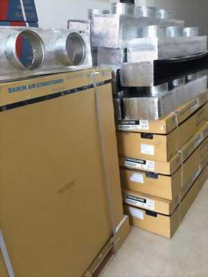 Thi công lắp đặt máy lạnh giấu trần ống gió Daikin