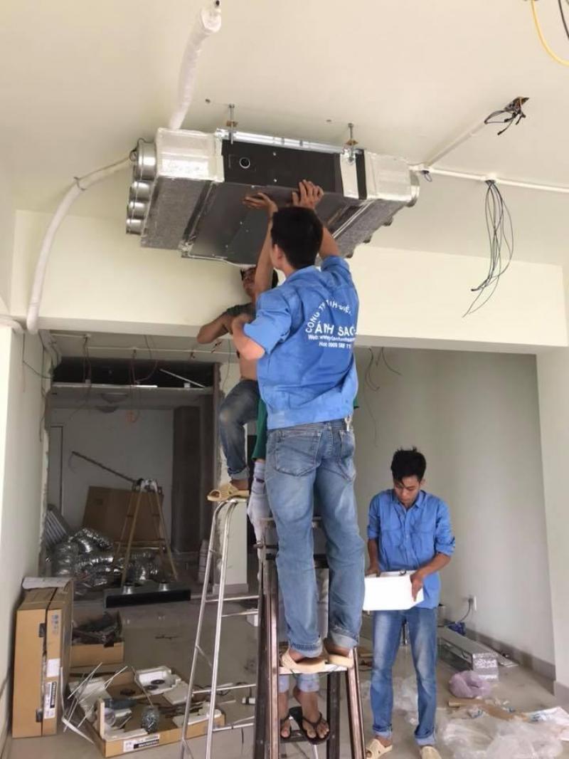 Địa điêm cung cấp và thi công máy lạnh giấu trần Daikin