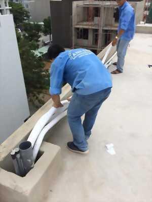 Chuyên thi công ống đồng - đi dây điện âm tường máy lạnh