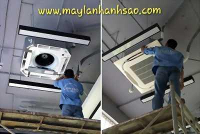 Máy lạnh âm trần Daikin Inverter FCF71CVM/RZF71CV2V 3Hp - Gas R32