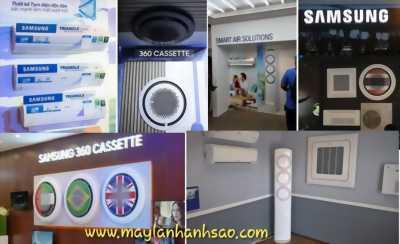 Máy lạnh Samsung giá rẻ - Lắp đặt máy lạnh tận nơi, chuyên nghiệp