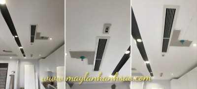 Máy lạnh giấu trần nối ống gió Daikin công suất 4hp (ngựa)
