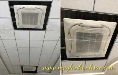 Lắp đặt máy lạnh âm trần Daikin FCF100CVM (4hp) Inverter