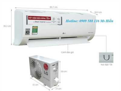 Đại lý báo giá máy lạnh treo tường LG Inverter Gas R32