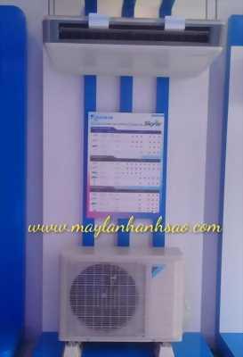Đơn vị lắp đặt máy lạnh áp trần Daikin chuyên nghiệp, thẩm mỹ
