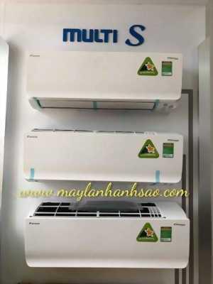 Bán - Lắp đặt máy lạnh Multi S chuyên nghiệp, giá rẻ - Daikin chính hãng