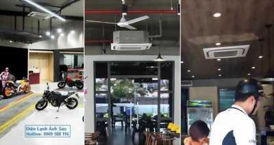 Máy lạnh âm trần Daikin FCQ - Lắp đặt máy lạnh tận nơi giá rẻ