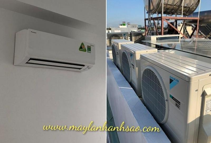 Máy lạnh treo tường Daikin 1 chiều 17.700Btu FTKC50UVMV Inverter