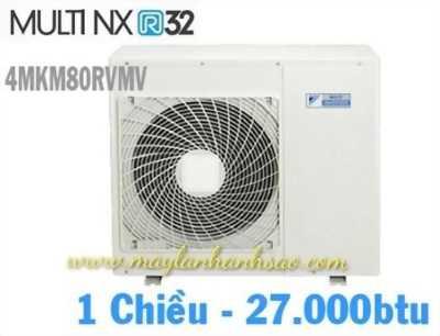 Dàn nóng Multi Daikin Inverter - 4MKM80RVMV 3.5hp - Gas R32