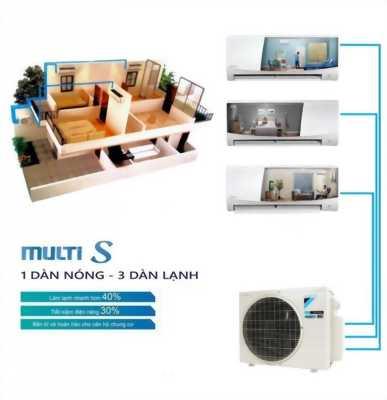 Lựa chọn hàng đầu cho hộ chung cư hiện nay - Điều hòa không khí Multi S Daikin Inverter Gas R32