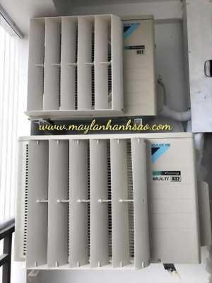 Dàn nóng mày lạnh Multi NX - Mặt nạ chuyển hướng gió dàn nóng giá rẻ