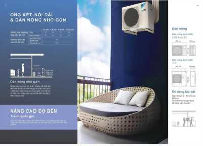 Điều hòa Multi Daikin Super NX Gas R32 – Dàn nóng 5MKM100RVMV 34100btu kết nối 5 phòng