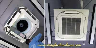Máy điều hòa âm trần Daikin Inverter FCF60CVM/RZF60CV2V - Điện Lạnh Ánh Sao