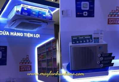 Máy lạnh âm trần Daikin FCFC50DVM/RZFC50DVM 2hp (ngựa) Inverter