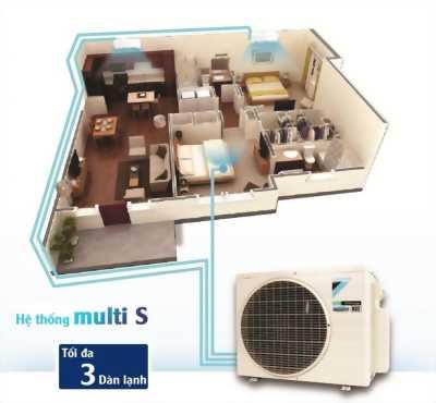 Tư vấn dòng điều hòa Multi sử dụng cho căn hộ 3 phòng – Đại lý điều hòa Daikin Ánh Sao