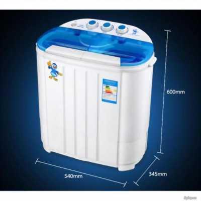 Máy giặt mini 2 lồng giặt cho quần áo trẻ em