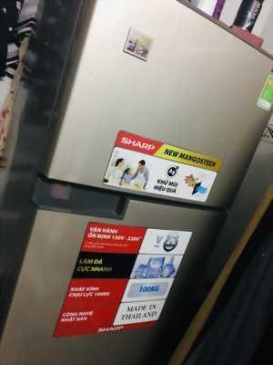 Tủ lạnh cònBH 1 năm, giữ đến cả bì bóng mới mua