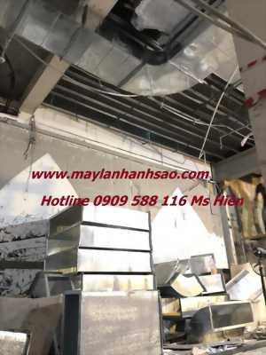 Công ty Ánh Sao thi công máy lạnh giấu trần chất lượng cao cho nhà hàng quận 5