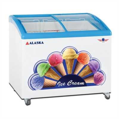 Bán tủ kem lớn còn mới 95%