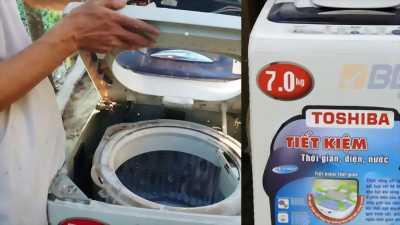 Máy Giặt sanyo 7kg Model asw-f100at có đồng hồ báo