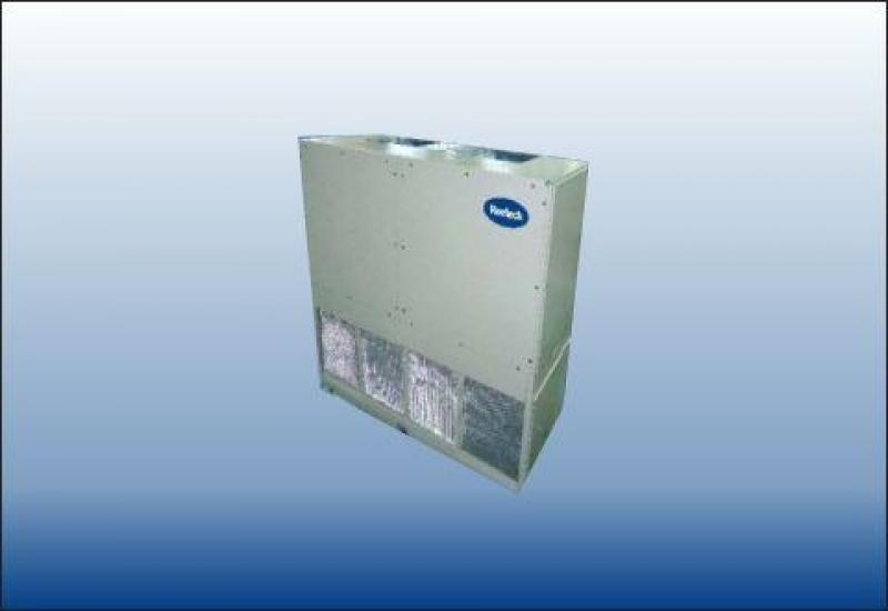 Lắp đặt máy lạnh tủ đứng Reetech cho công trình công nghiệp