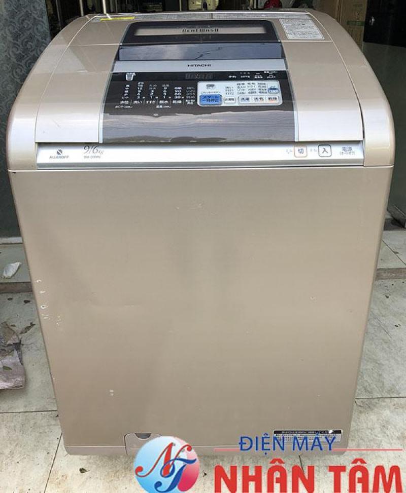 Máy giặt nội địa HITACHI BW-D9MV 9KG,cửa trên,có sấy