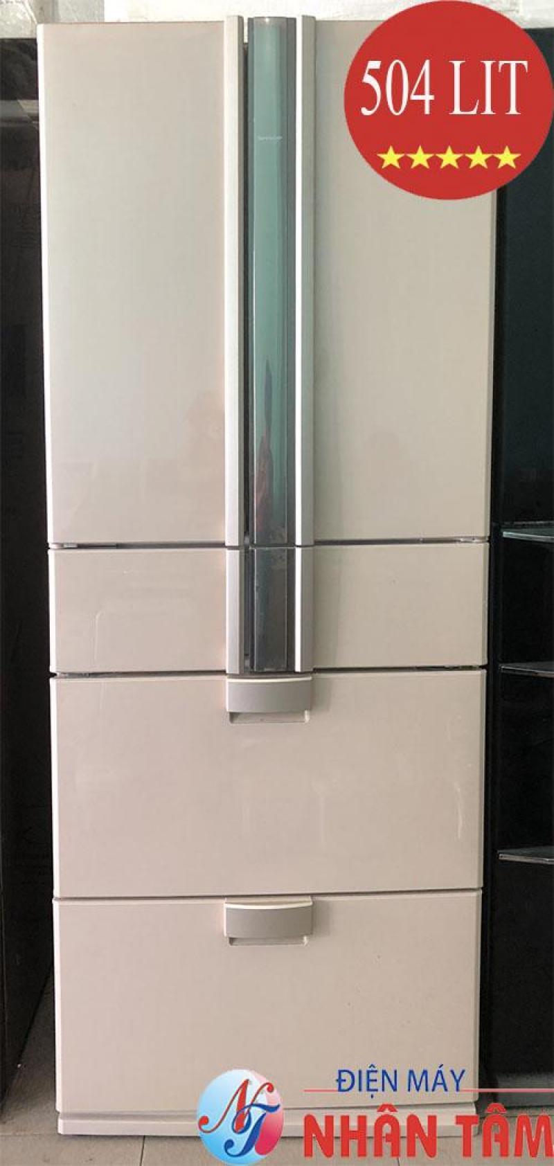Tủ lạnh nội địa SHARP SJ-F500R 504L 6 cánh