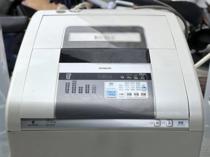 Máy giặt HITACHI 9kg lồng đứng có sấy date 2011 -2012