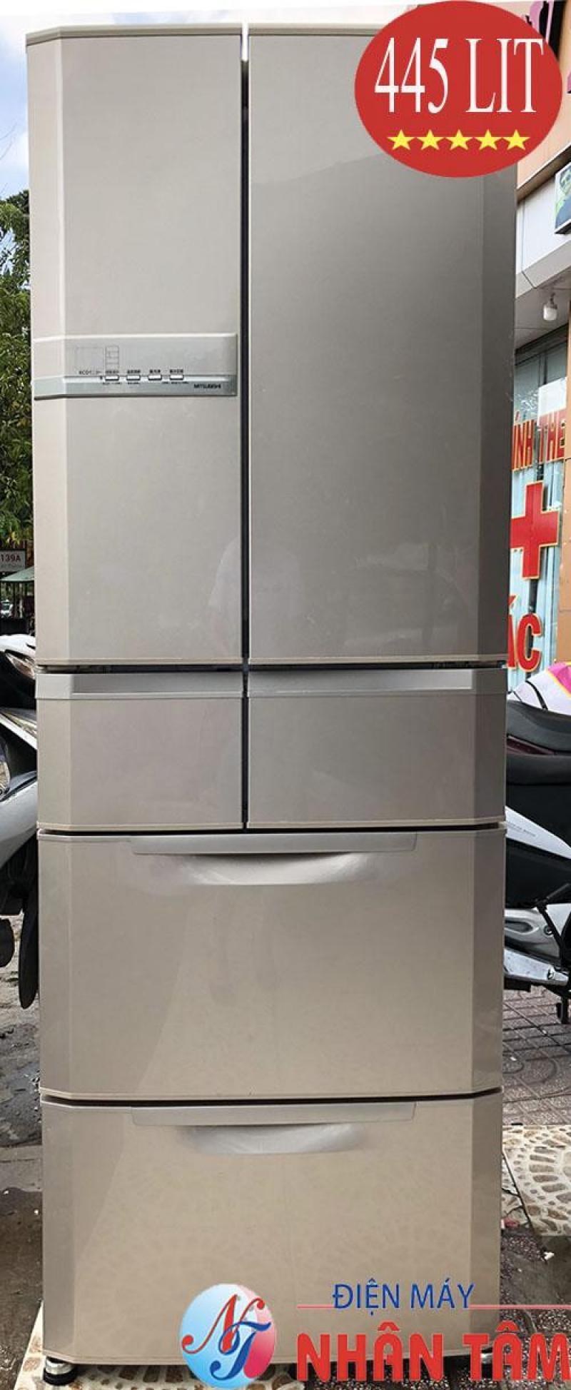 Tủ lạnh nội địa Mitsubishi MR-E45R Eco,đời 2009