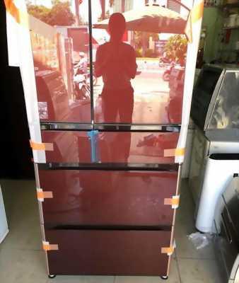 Tủ lạnh nội địa HITACHI R-XG6200G 615Lit , hút chân không date 2017