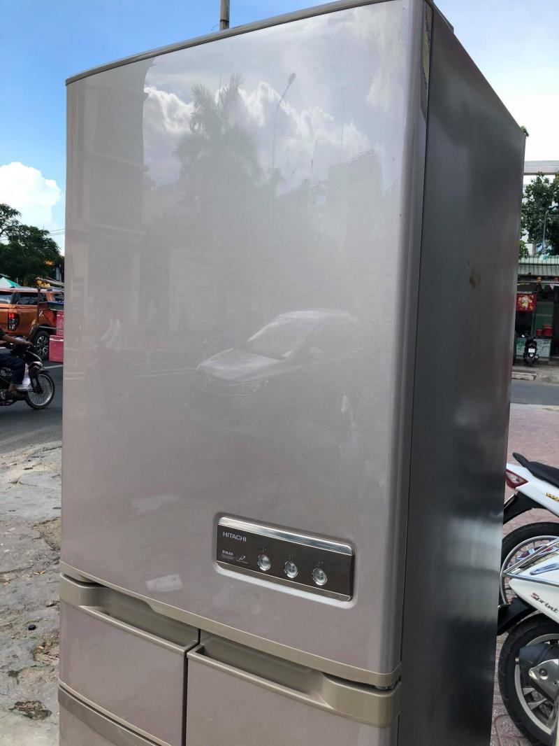 Tủ lạnh HITACHI R-S42YM 415LIT - 5 CÁNH - đời 2009