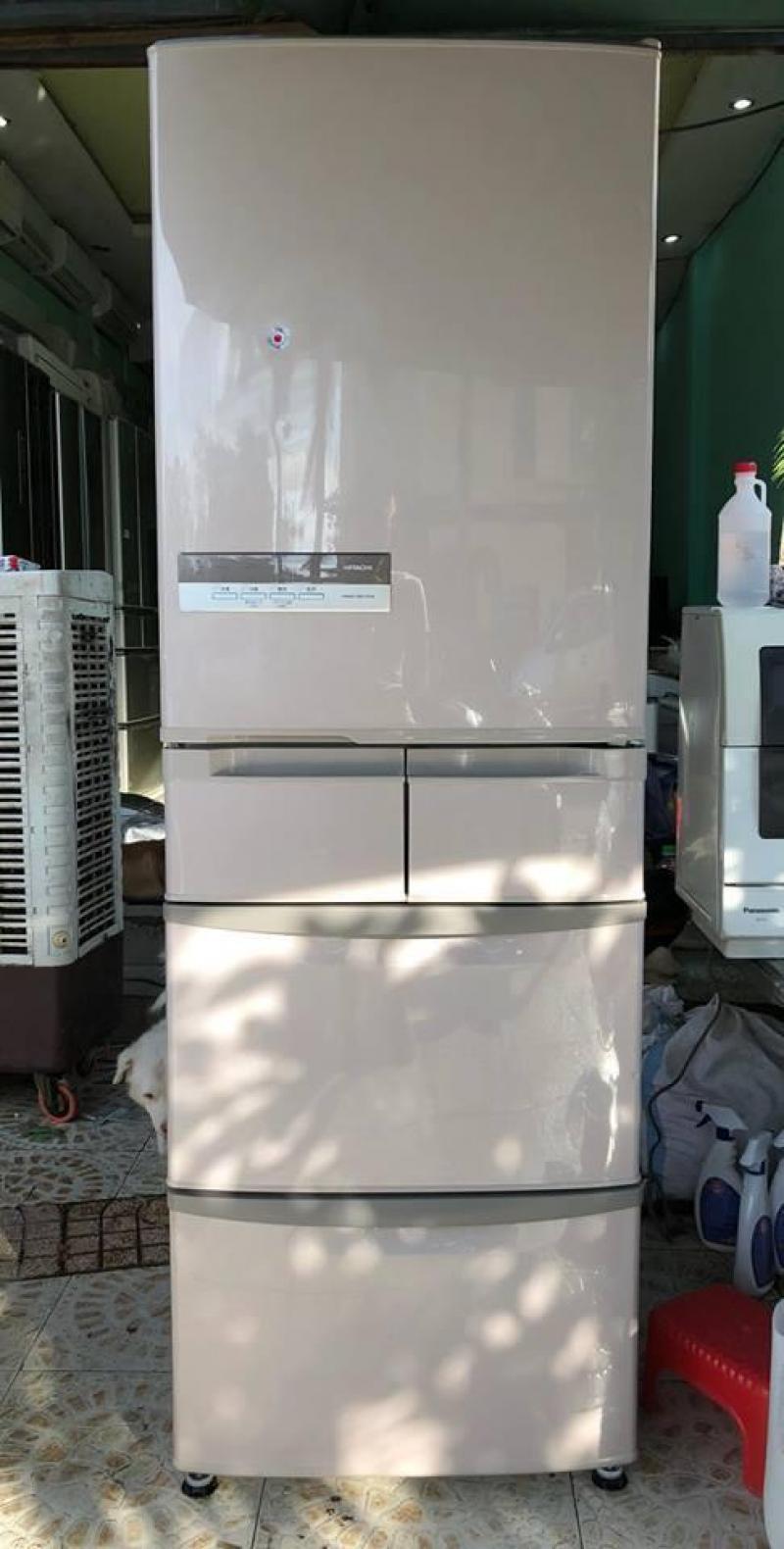Tủ lạnh Hitachi R-S42AM 415 lit -5 cánh - ĐỜI 2011