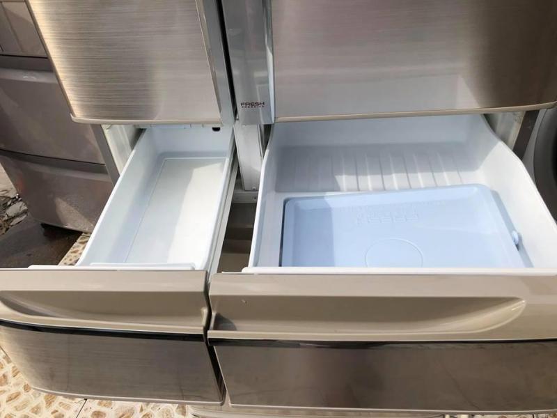 Tủ lạnh nội địa PANASONIC NR-F473TM 470LIT ,6 cánh,Vỏ inox
