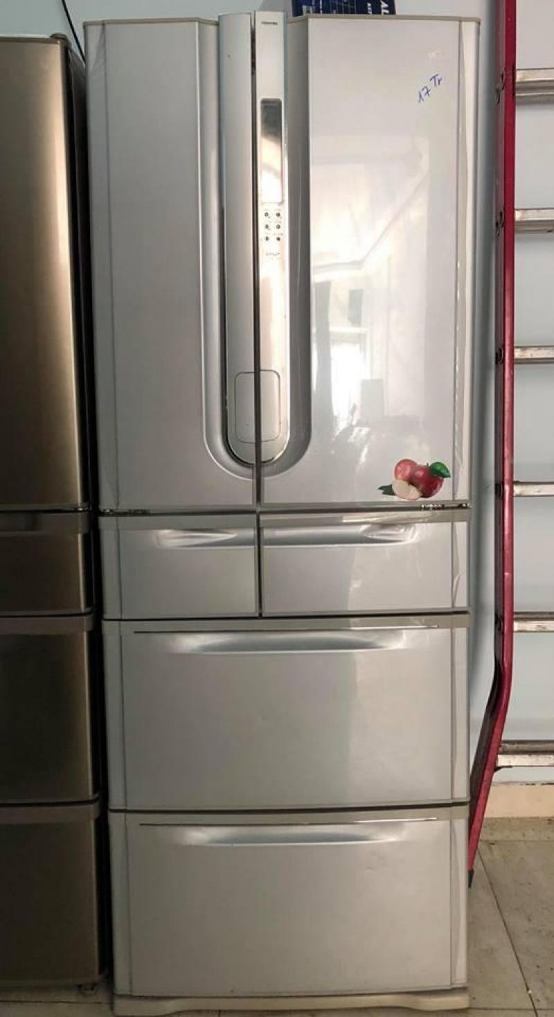 Tủ lạnh Toshiba GR-W42FB 420 lit 6 cánh cửa từ !