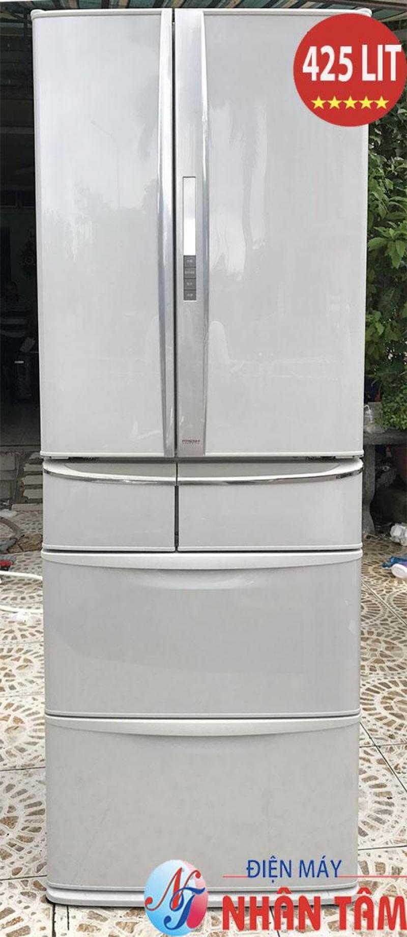 Tủ lạnh nội địa PANASONIC NR-F433T 426L,6 cánh date 2008