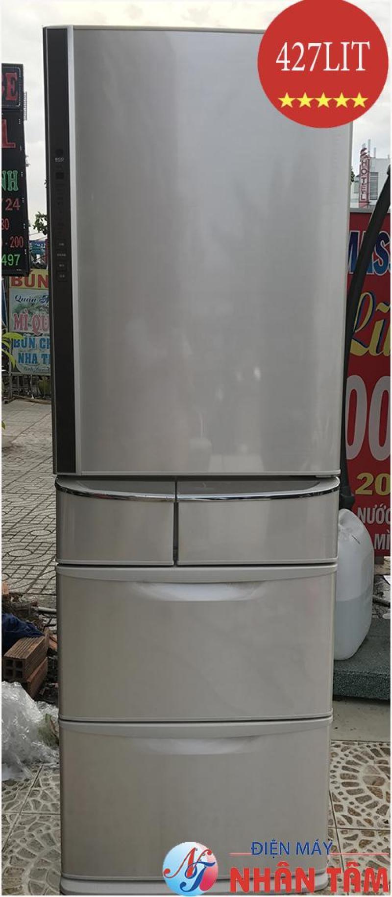 Tủ lạnh nội địa Nhật PANASONIC NR-E434T,econavy,đời 2010