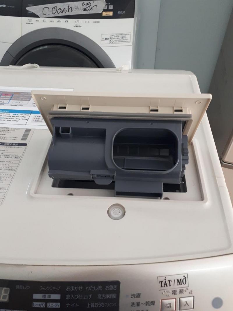 Máy giặt nội địa Panasonic NA-VX5000 Sấy block (9kg,date 2011)