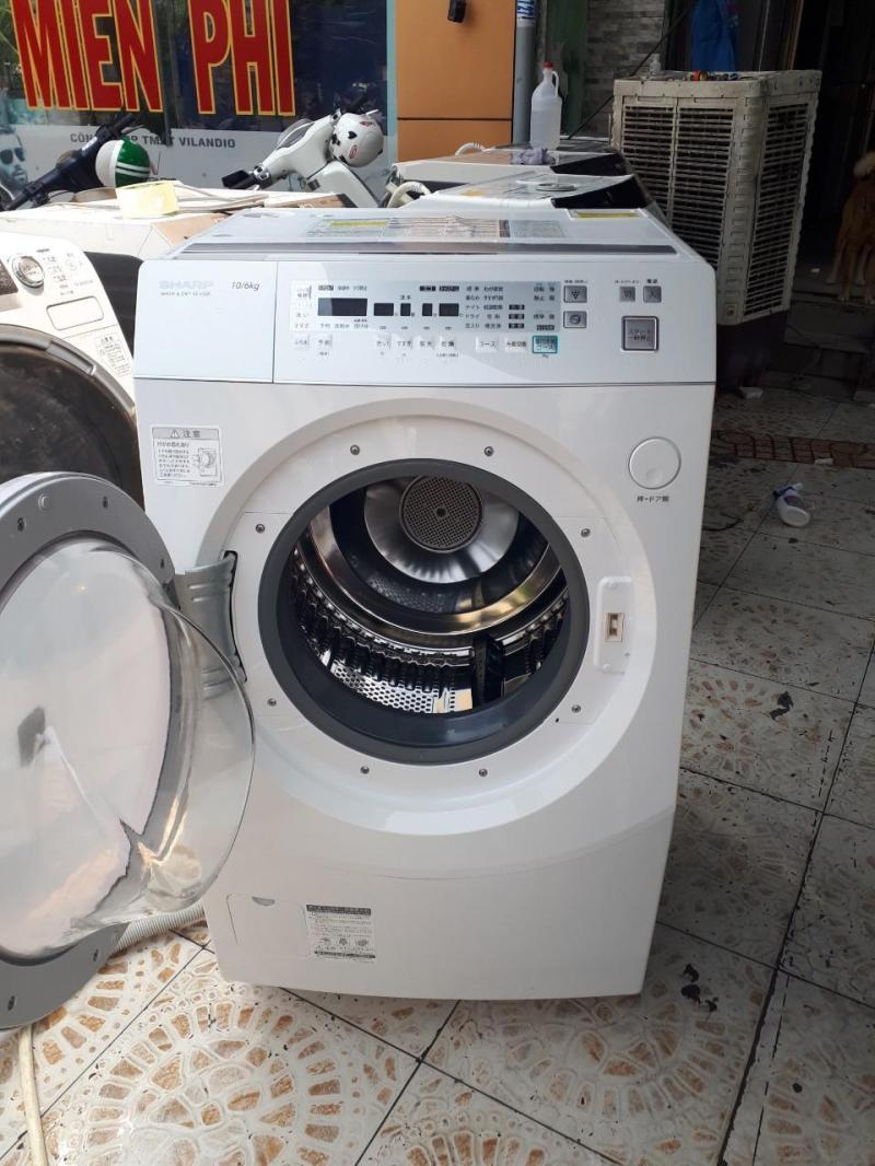 Máy giặt nội địa SHARP ES-V520-PL 10KG sấy 6kg Đời 2011