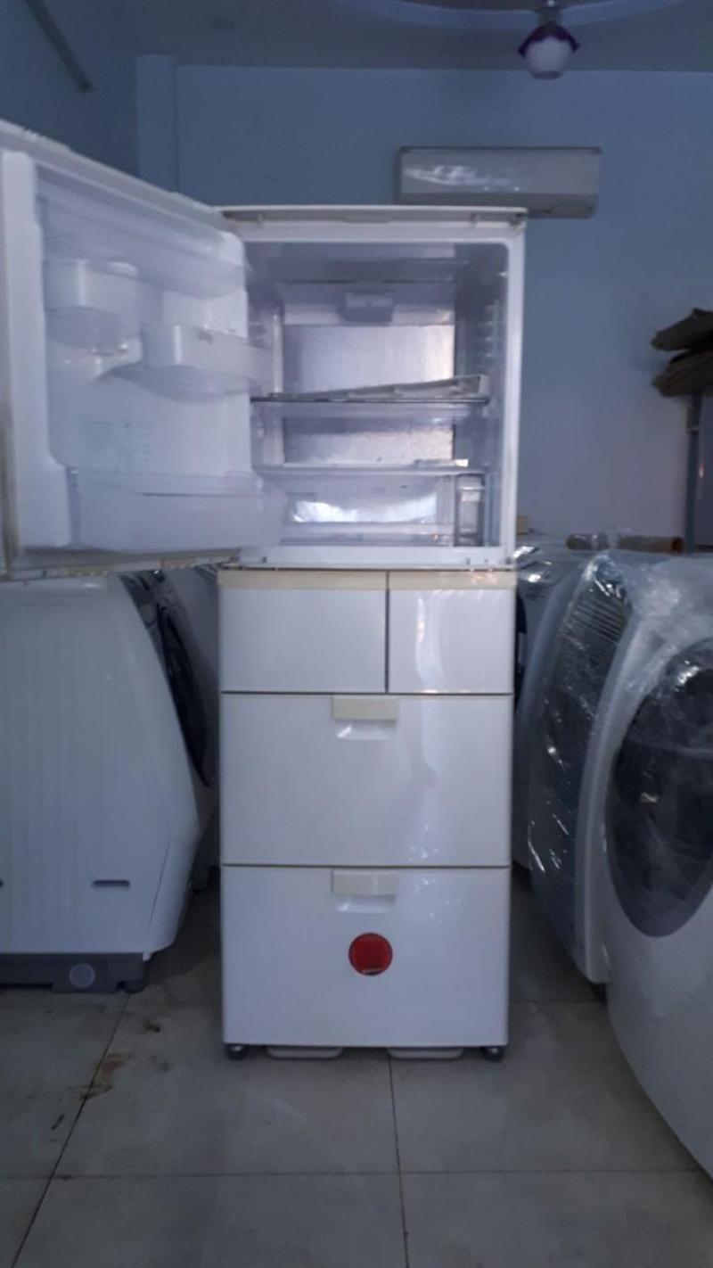 Tủ lạnh SHARP SJ-KW38R-W 380L đời 2009, màu trắng
