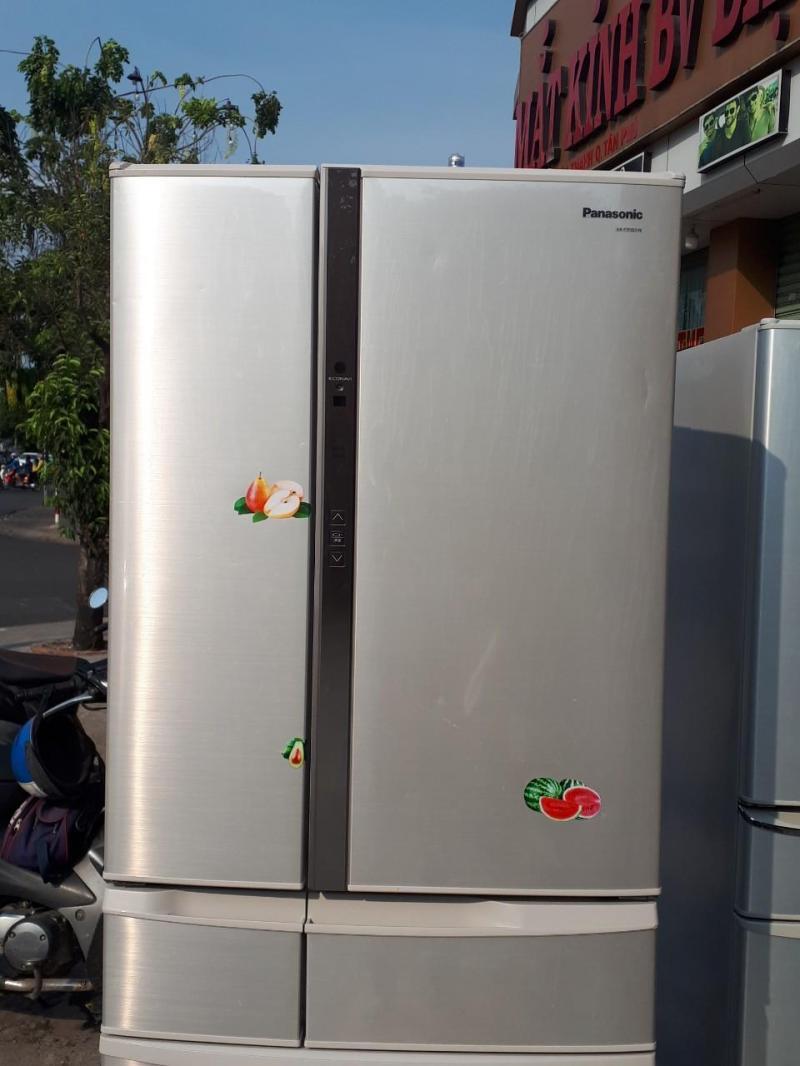 Tủ lạnh nội địa PANASONIC NR-FTF557-N 552L date 2013 MÀU Champagne
