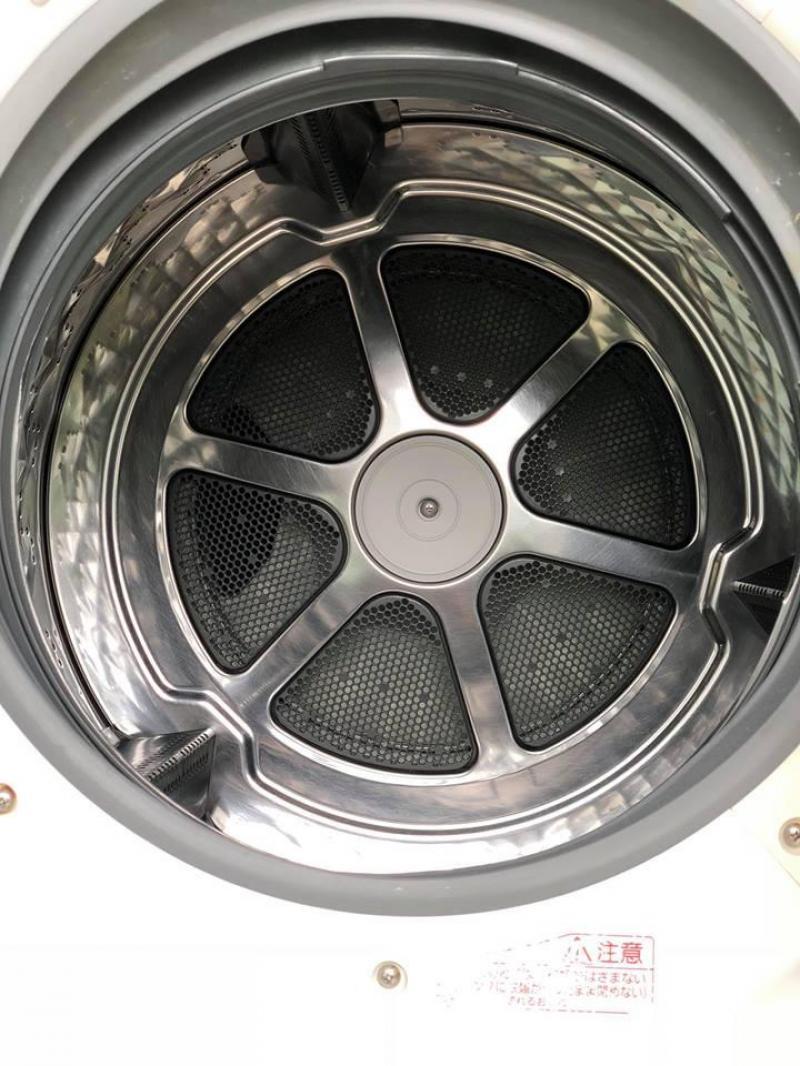 Máy giặt Panasonic NA-VX7100 9KG,SẤY 6KG sấy Block màu trắg