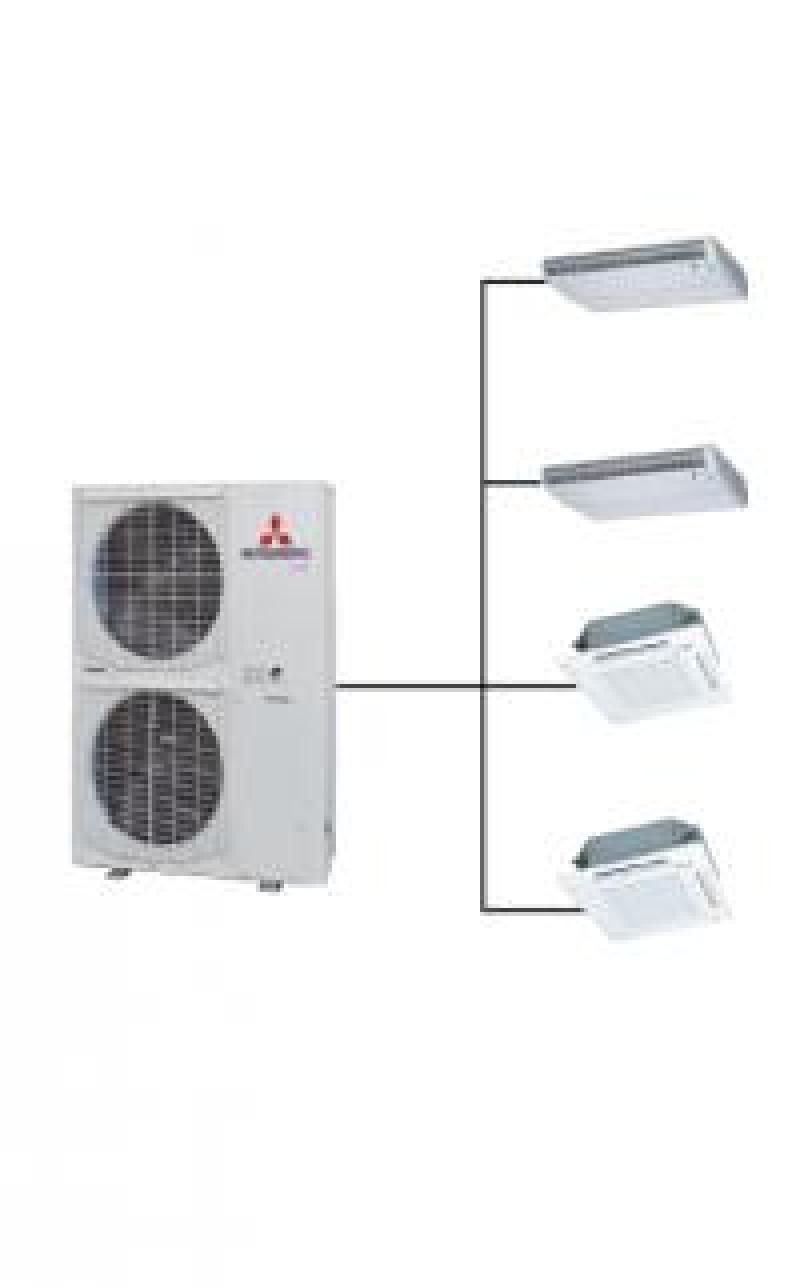 Lắp đặt dòng máy lạnh multi Daikin cho chung cư, biệt thự giá rẻ có 1 không 2