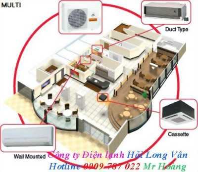Dàn lạnh treo tường , áp trần gắn với 1 cục nóng giá rẻ dòng máy lạnh multi Daikin