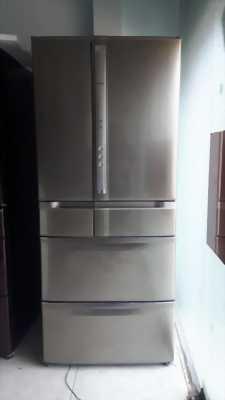 Tủ lạnh Hitachi R-SF60XM 2007 602 Lít Hút Chân Không